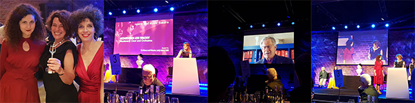 RPS Music Awards - pictured from left to right Rosa Solinas, Elsa Rooke & Francesca Biliotti