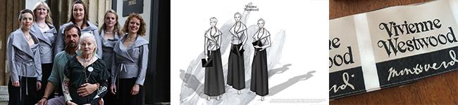 Vivienne Westwood ladies choir jackets